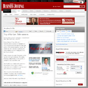 Screenshot of DenverBusinessJournal.com