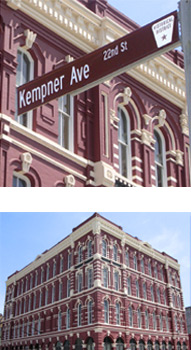 Images of the priceless historical landmark building in Galveston, Texas