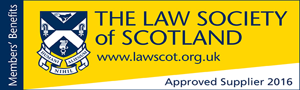 The Law Society of Scotland www.lawscot.org.uk Approved Supplier 2014 logo